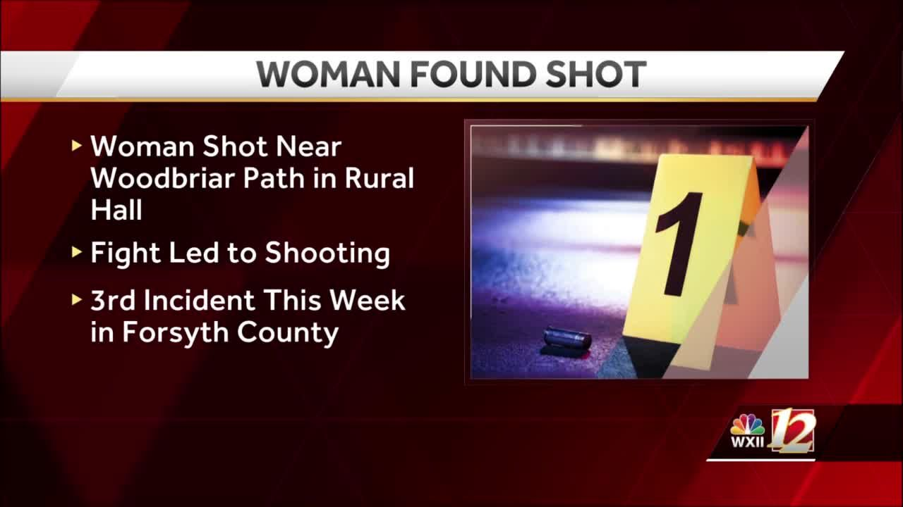Forsyth County deputy hears gunshot, finds victim transported to hospital with life-threatening injuries