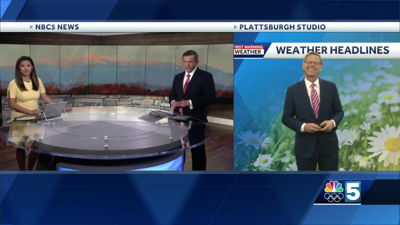 Video: Tom Messner says the mild weather continues. 4.12.21