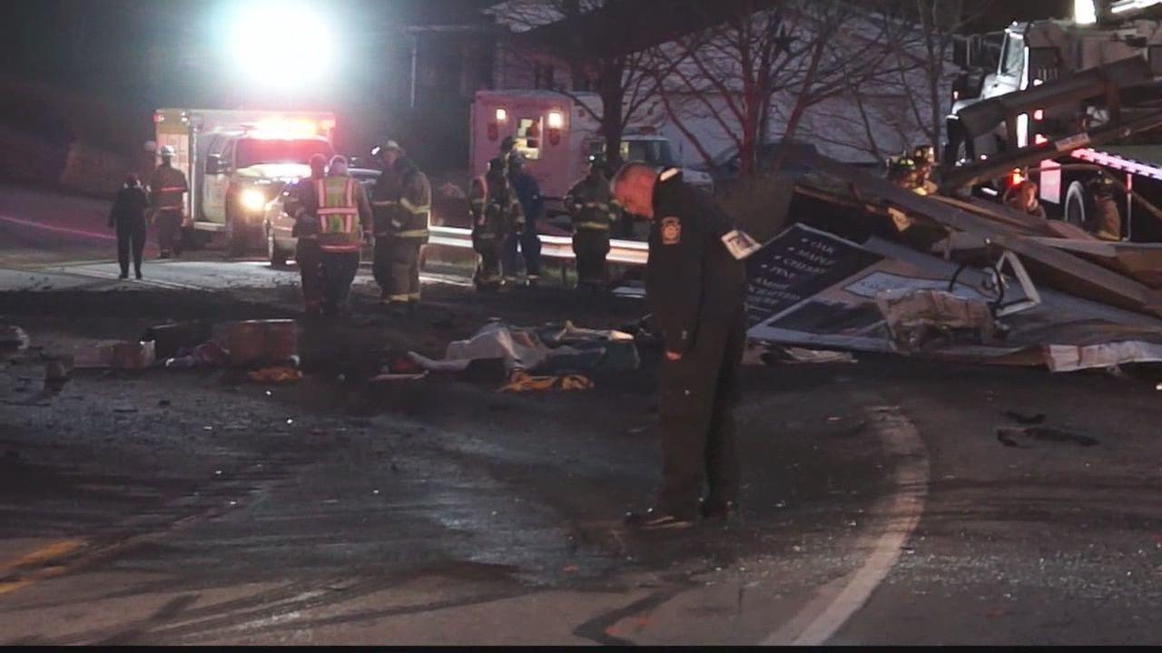 Crash involving coal truck kills 1
