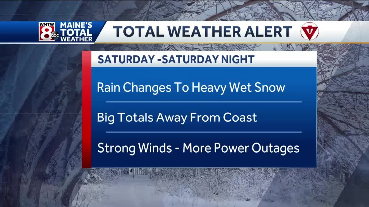 Nor'easter bringing rain, wind, and heavy, wet snow