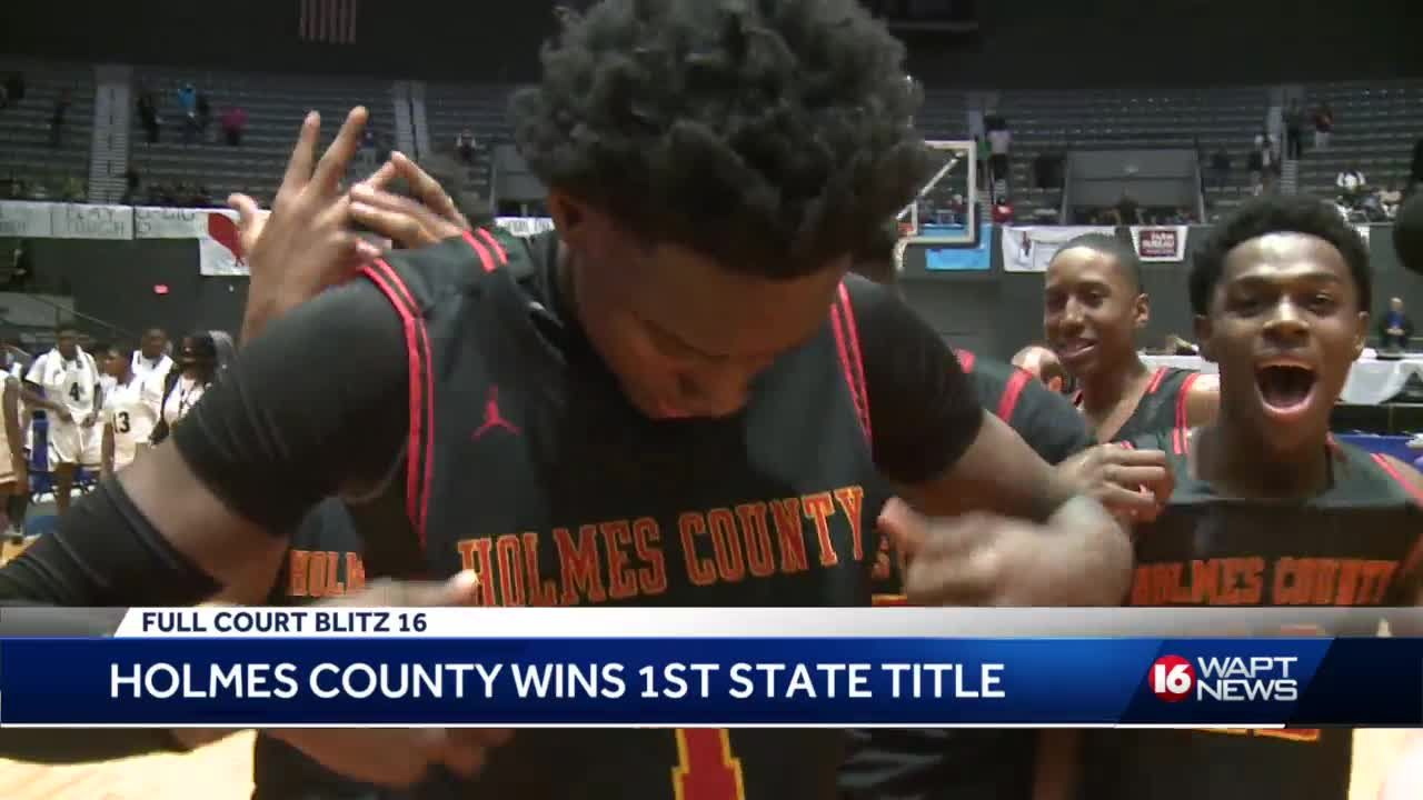 Holmes County Central wins first ever state basketball title