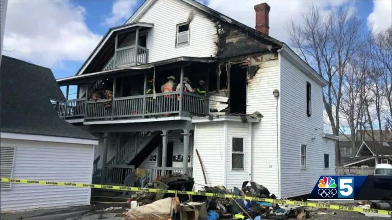 Multiple injuries reported after fire at New Hampshire apartment building
