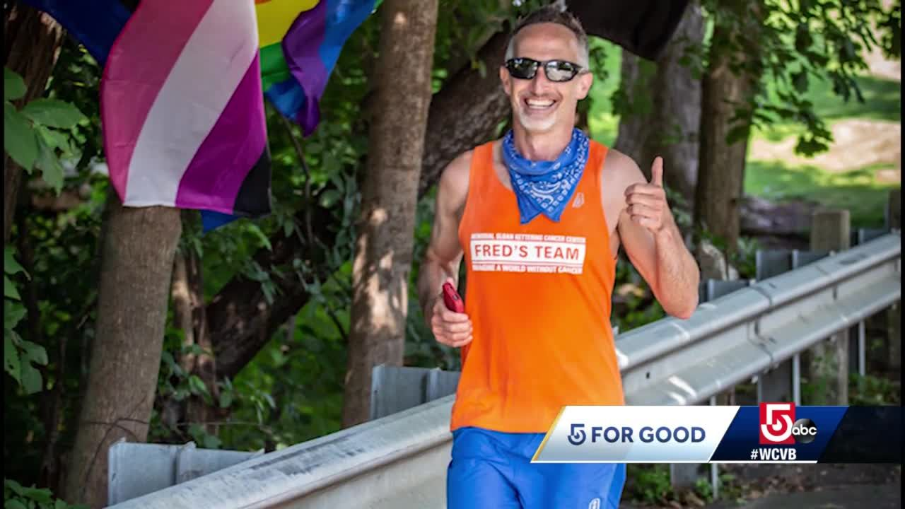 5 for Good: Runner completes solo marathon, raises funds to fight rare cancers