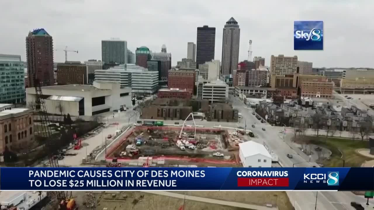 Pandemic deals $25 million blow to Des Moines' revenue