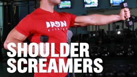 The 2-Minute Shoulder Screamer