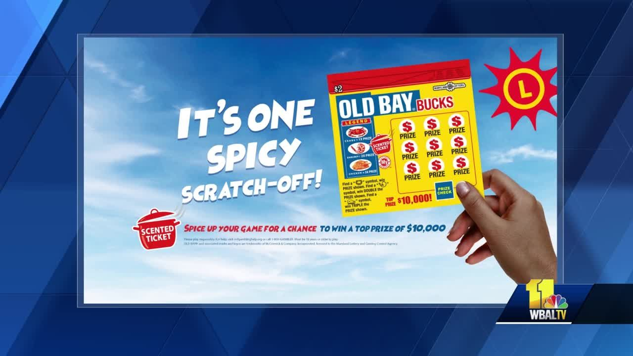 Maryland Lottery's got an Old Bay scratch-off game