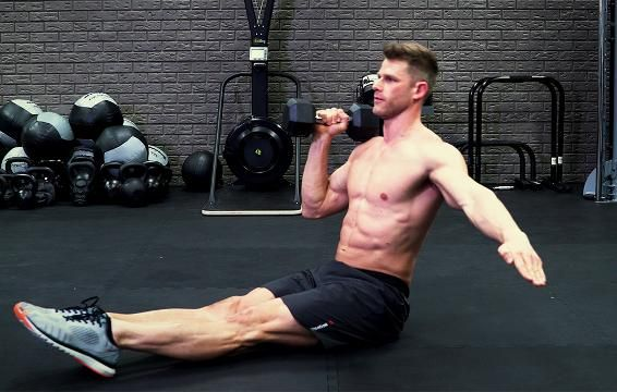 ​Torch Your Abs And Shoulders With One Move