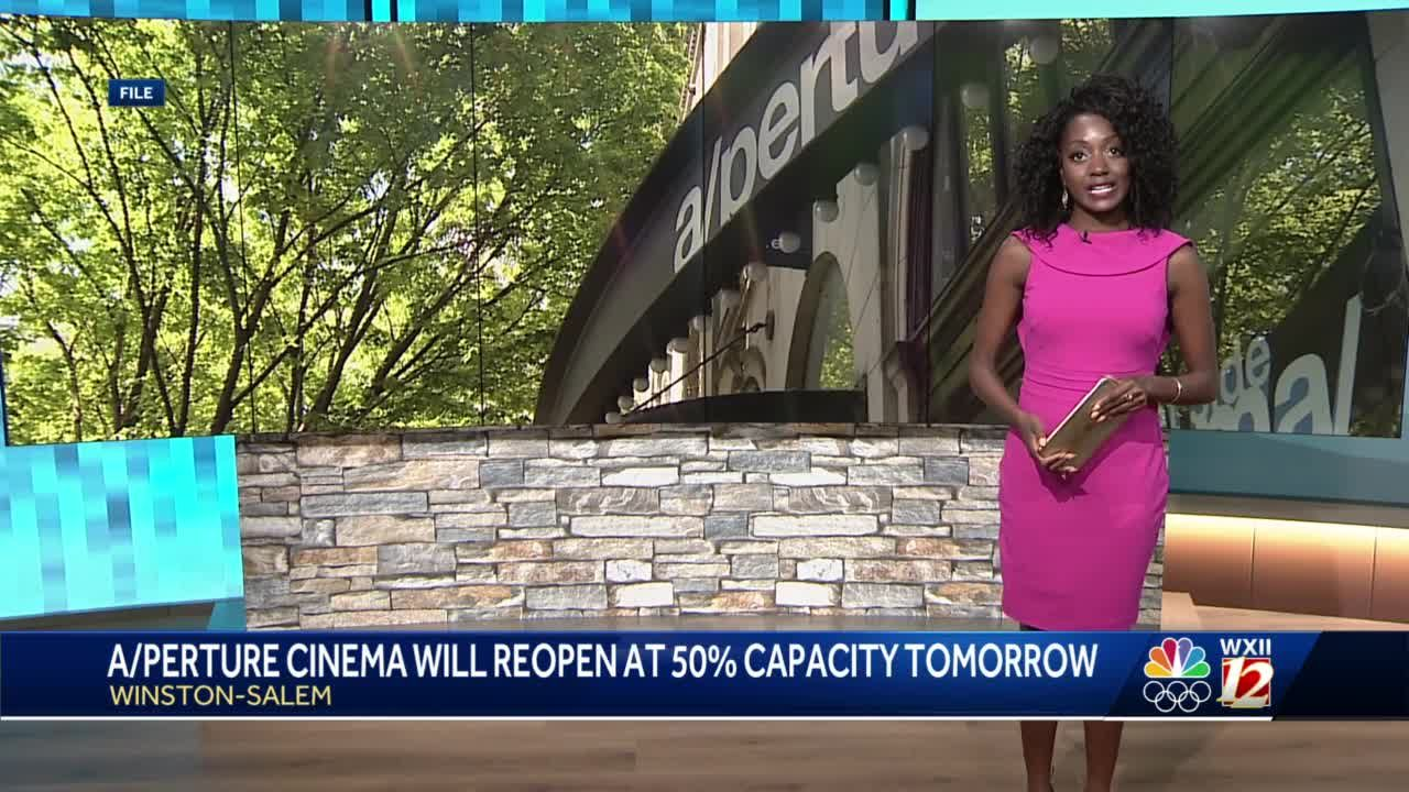 Winston-Salem movie theater to reopen after more than a year