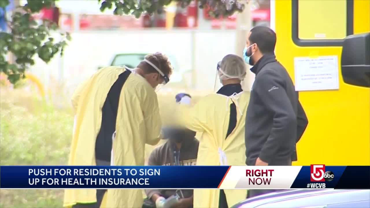 Push on for residents to sign up for health insurance