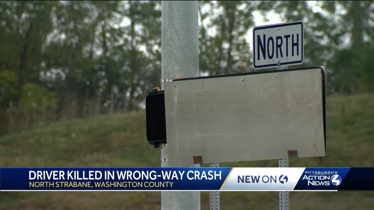 Woman killed in I-79 wrong way crash