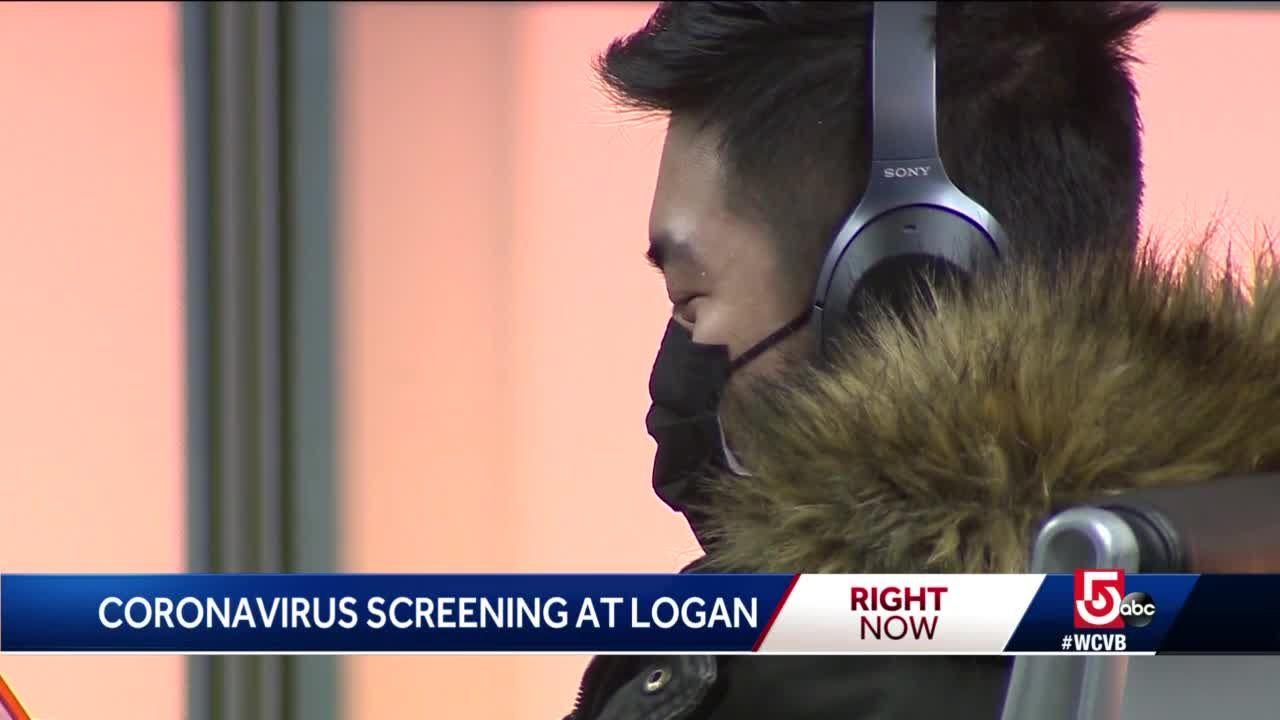 Logan screening passengers for coronavirus