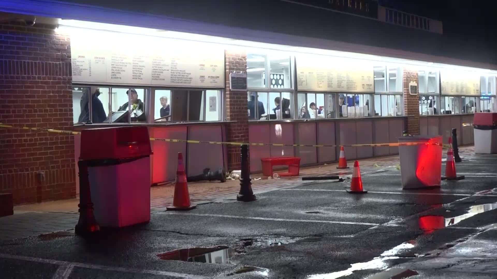 Car crashes into popular Massachusetts North Shore ice cream shop