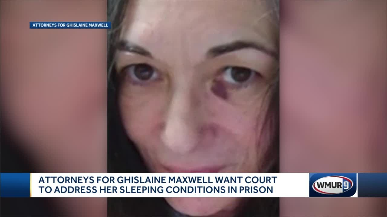 Attorneys for Ghislaine Maxwell want court to address her sleeping conditions in prison