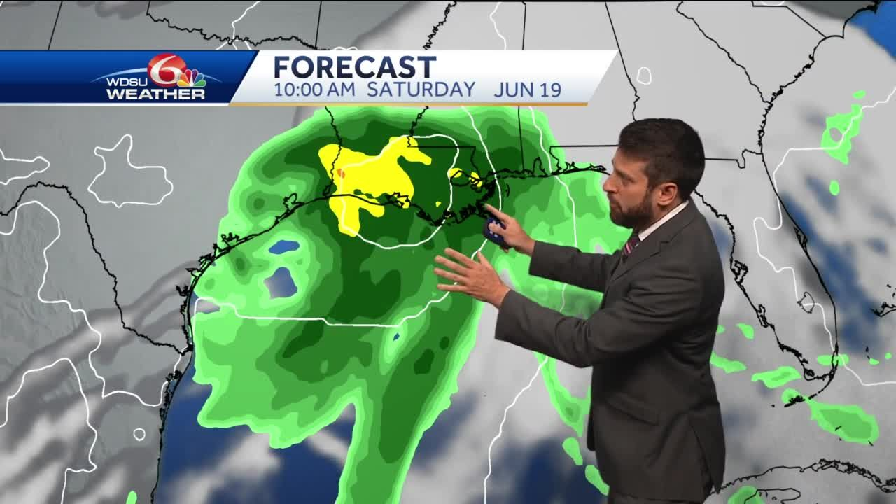 Heavy rain, flooding possible across southeast Louisiana this weekend