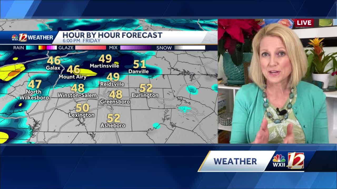 WATCH: Rain Arriving Late Friday Plus Isolated Thunderstorms & Your Weekend Forecast