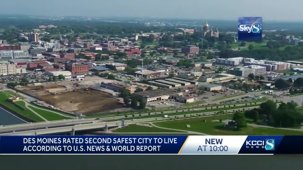 Report: Des Moines is 2nd safest city in the US