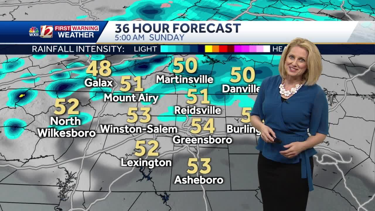 WATCH: Clouds & Sunshine Plus A Bit Gusty On Mother's Day!