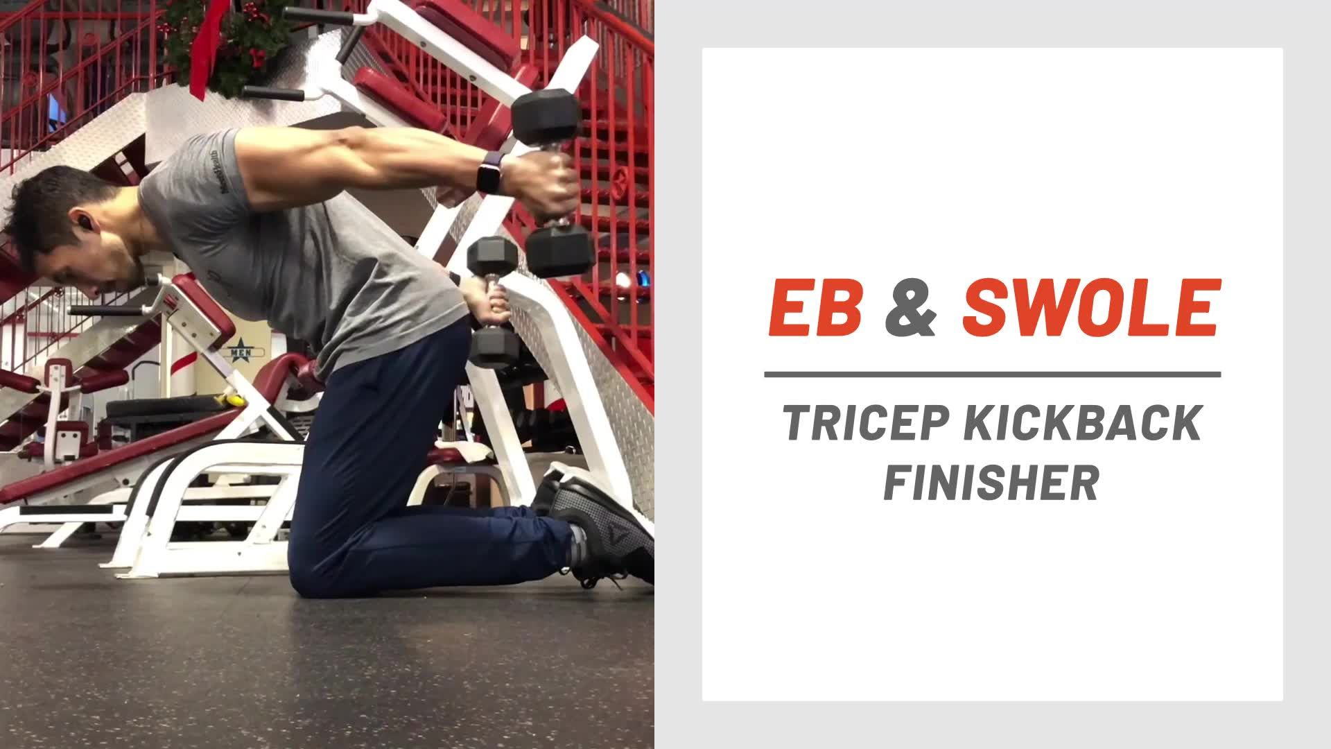 Crush Your Arms and Core With This Wicked Tricep Finisher