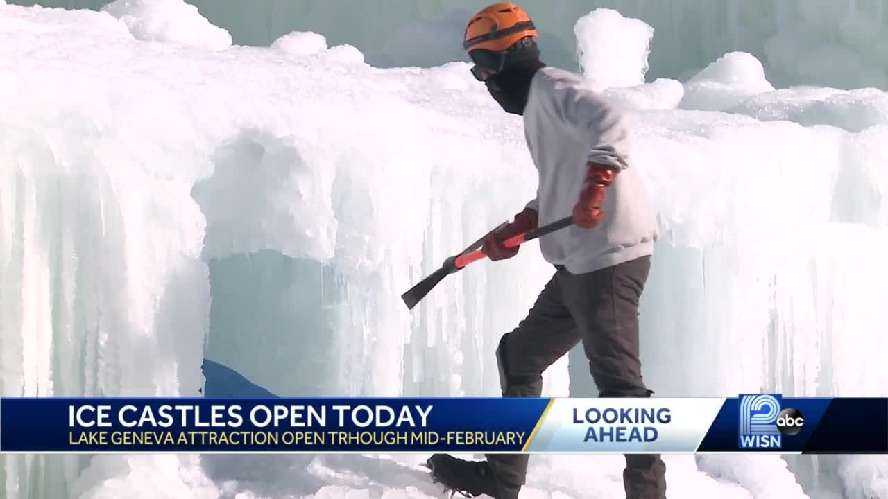 Ice Castles open Friday in Lake Geneva