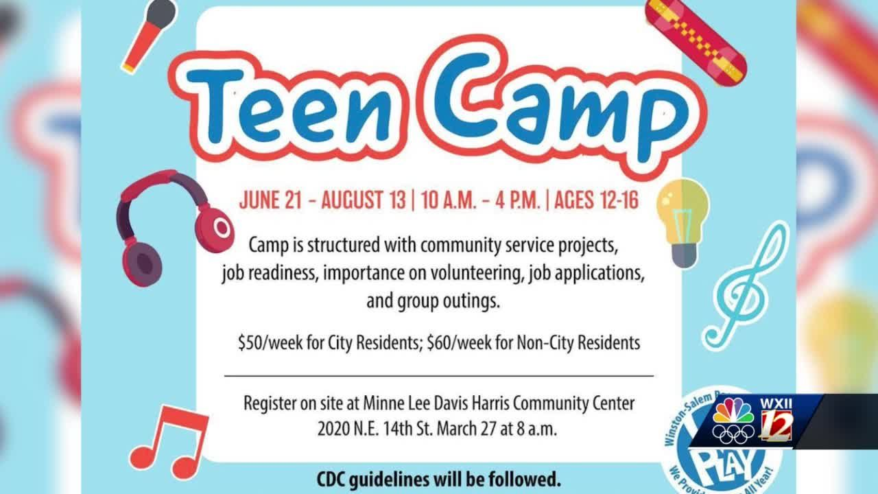 Winston Salem teens now have their very own summer camp