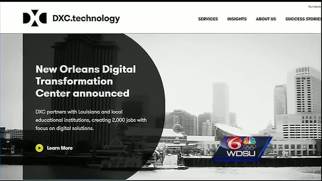 what dxc means for new orleans and louisiana