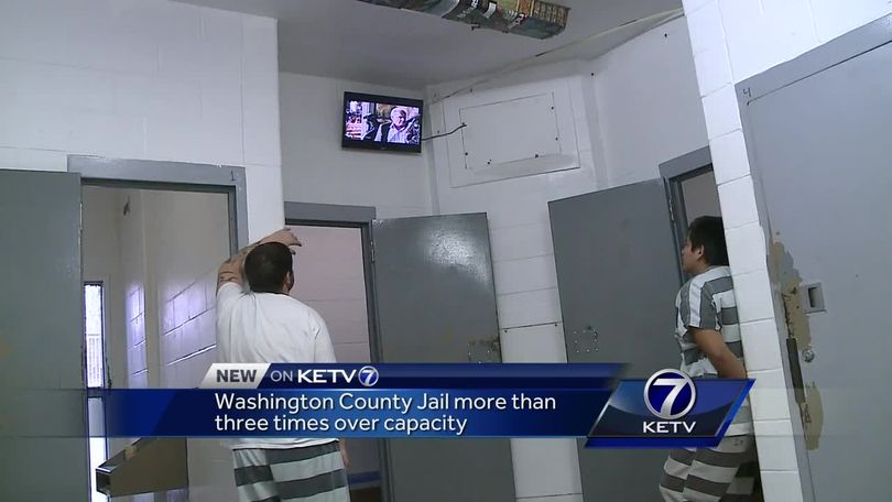 Washington County Jail more than three times over capacity