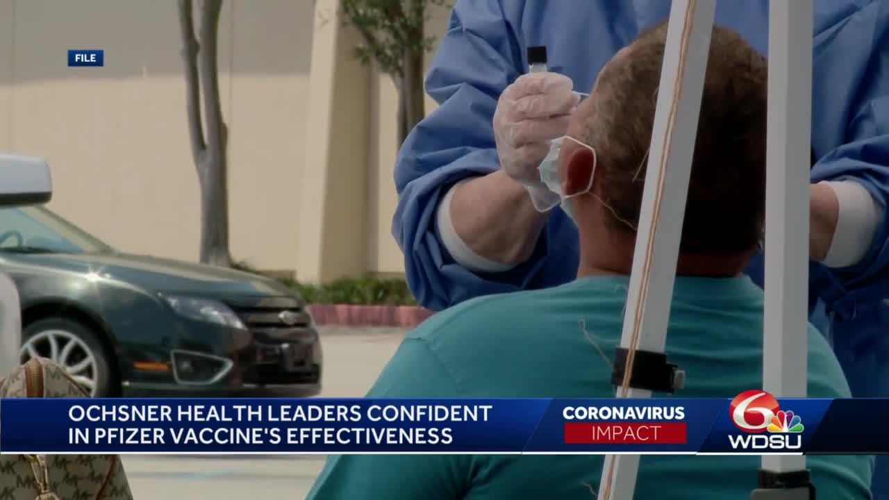 Ochsner provides update on COVID-19 vaccine trials