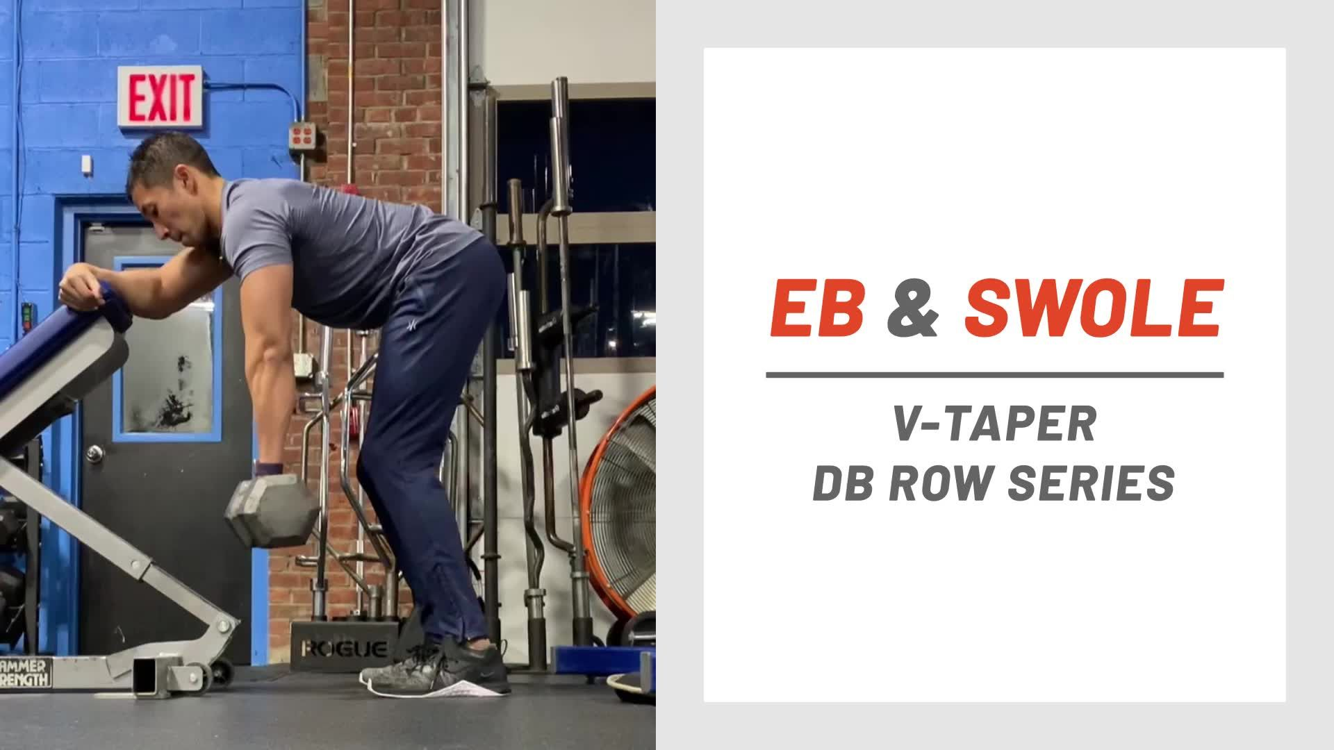 This Back Row Series Will Help You Get the Perfect V-Taper