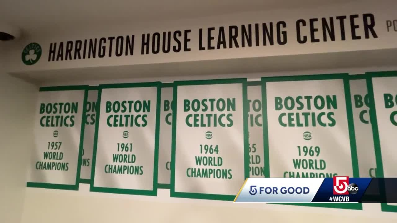 Celtics transform Boston common room in group home