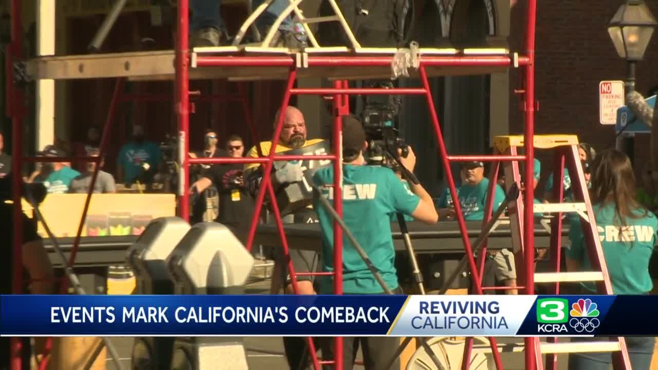 World's Strongest Man 2021 kicks off in Sacramento on California's reopening day