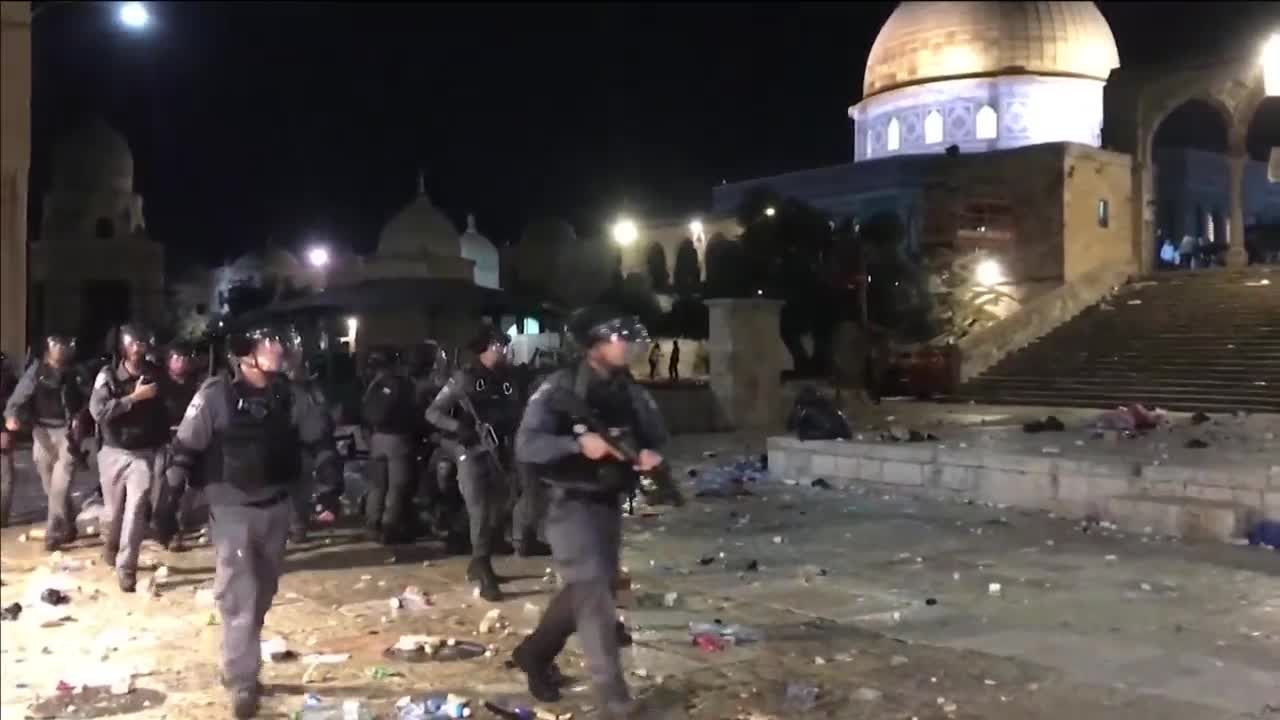 Leader in Oklahoma reacts to unrest in Jerusalem