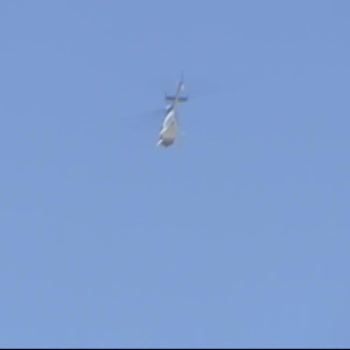 Why are so many helicopters flying over Santa Cruz, Capitola, Aptos?