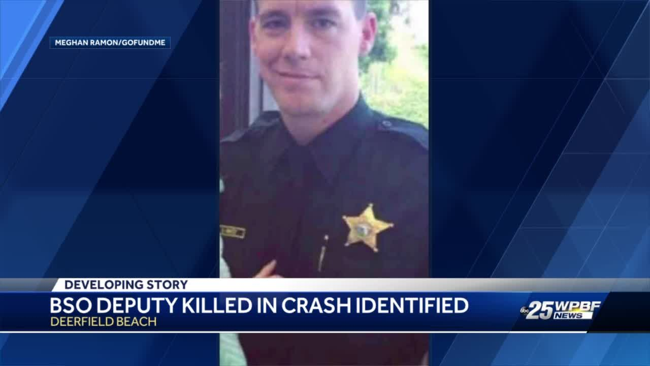 BSO identifies deputy who died on-duty in Deerfield Beach crash