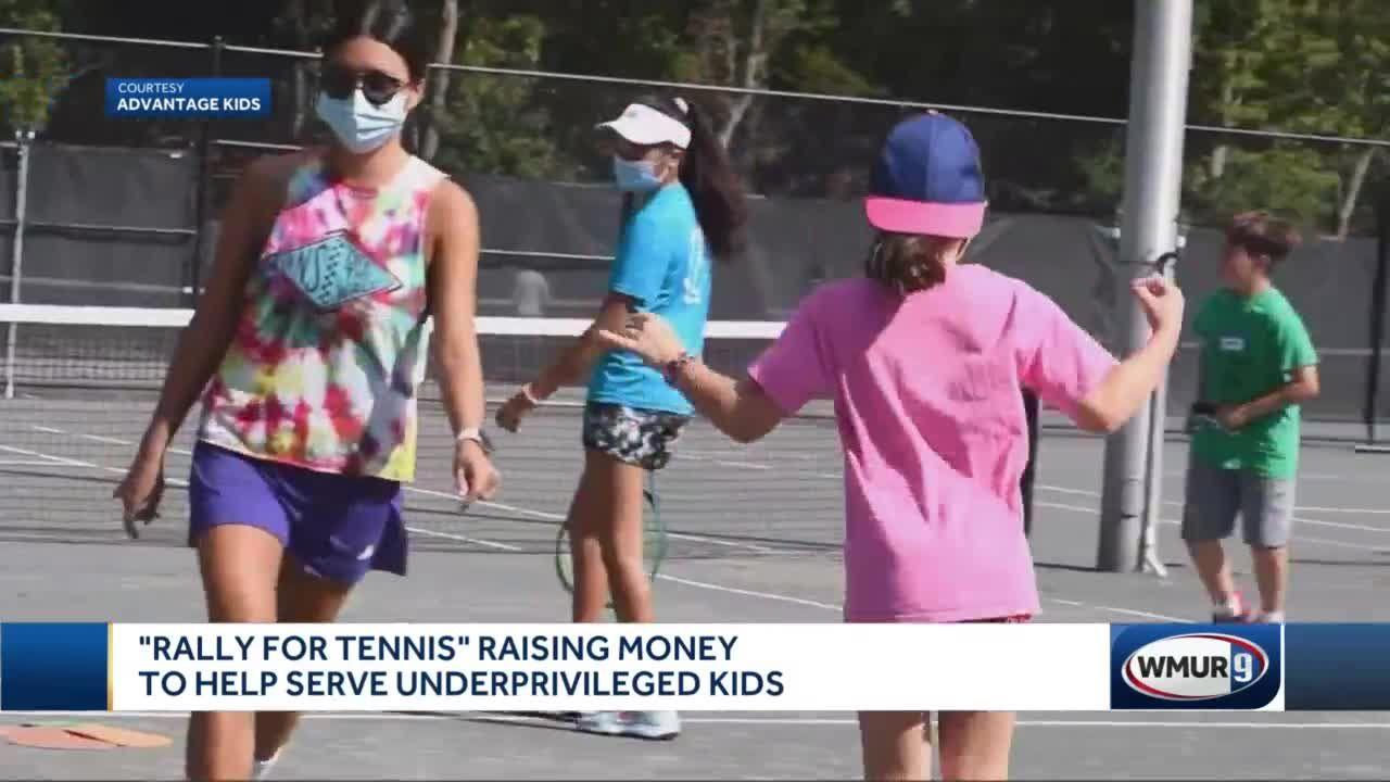 Rally for Tennis raising money to help serve underprivileged kids
