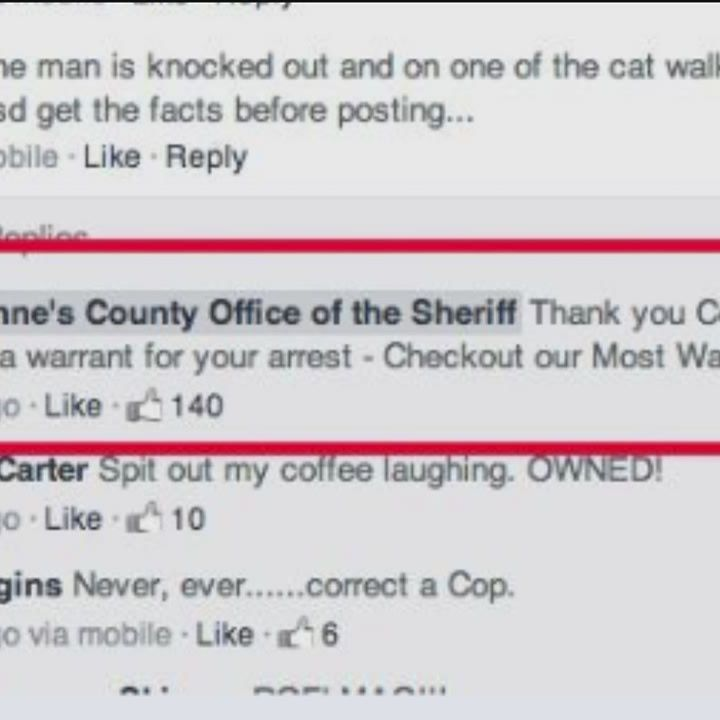 Facebook comment helps find county's most-wanted criminal