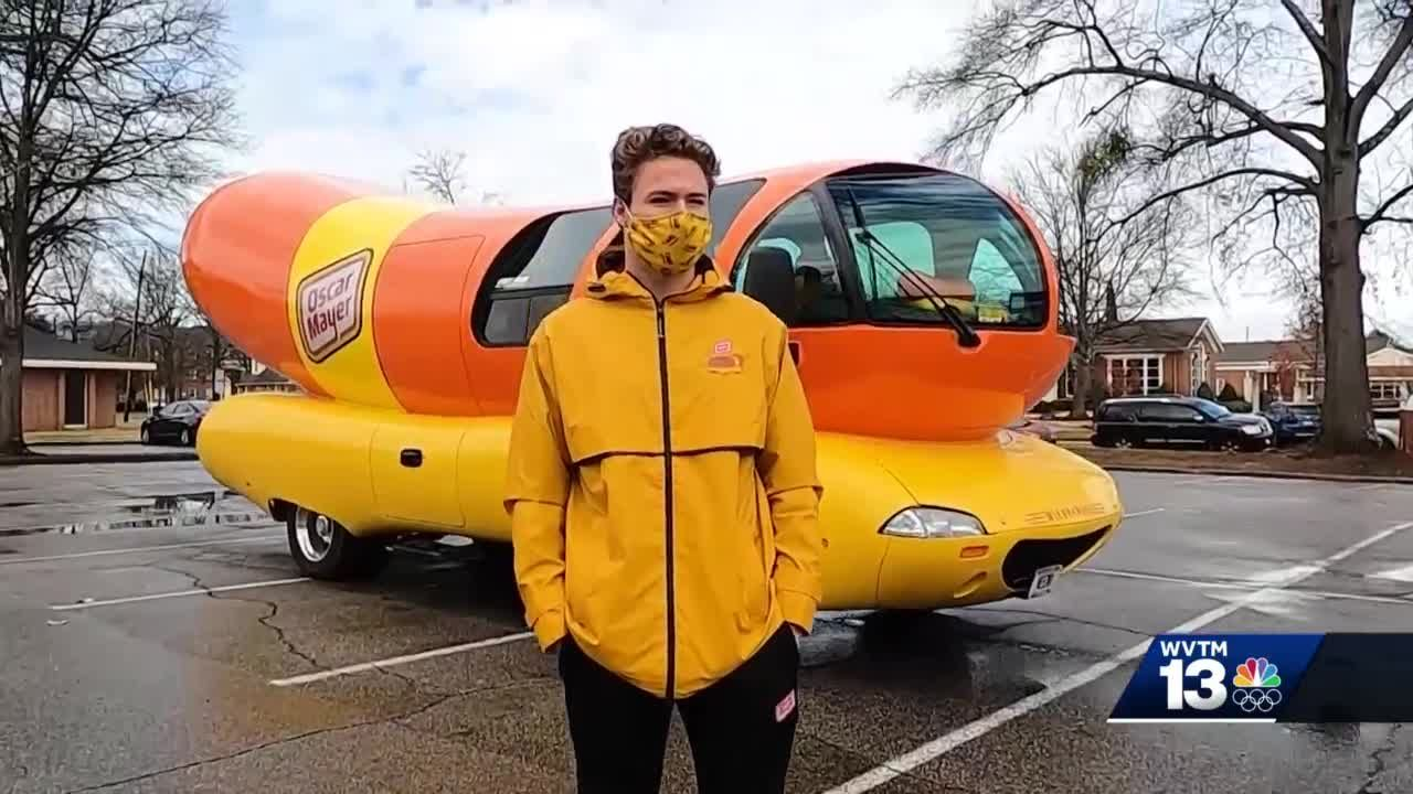 "Alabama graduate one of 12 people selected to drive Oscar Mayer's ""Wienermobile"""
