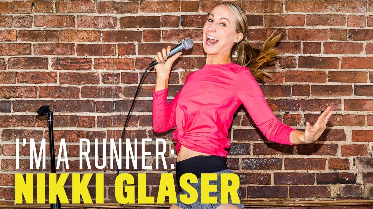 The Creative Ideas Start to Flow After 3 Miles for Comedian Nikki Glaser