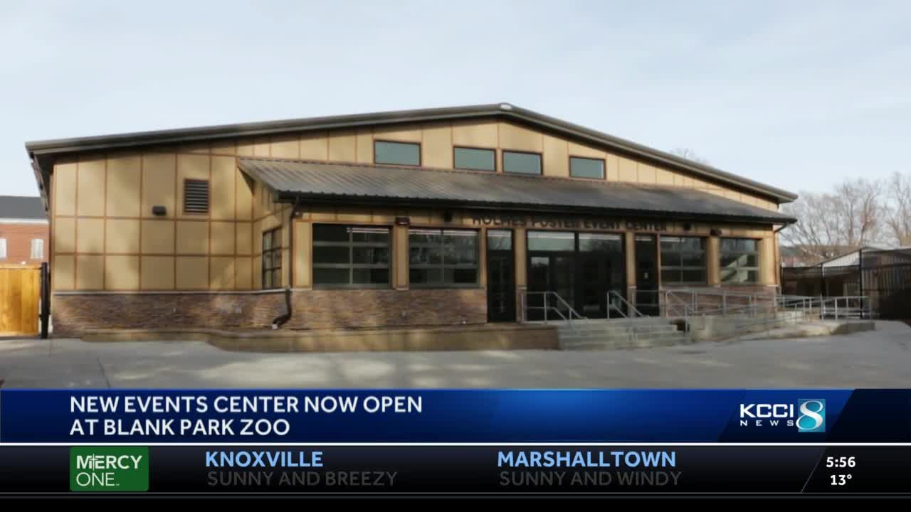 Blank Park Zoo opens new events center