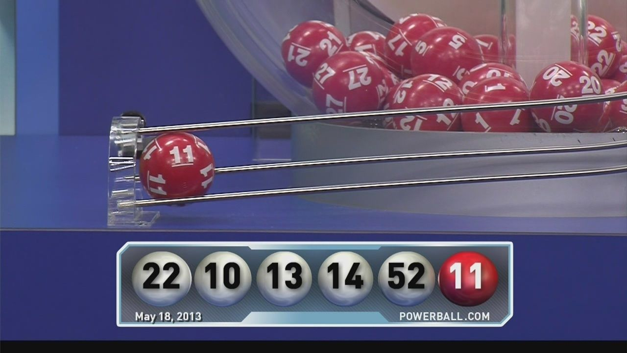 Record $590 5 million Powerball drawing held Saturday night