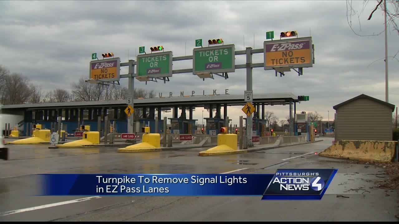 Pennsylvania Turnpike getting rid of E-ZPass traffic signal lights