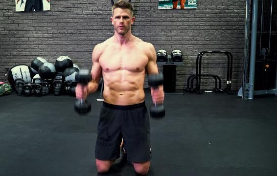 This Arms and Core Workout Is A One-Way Ticket To The Gun Show