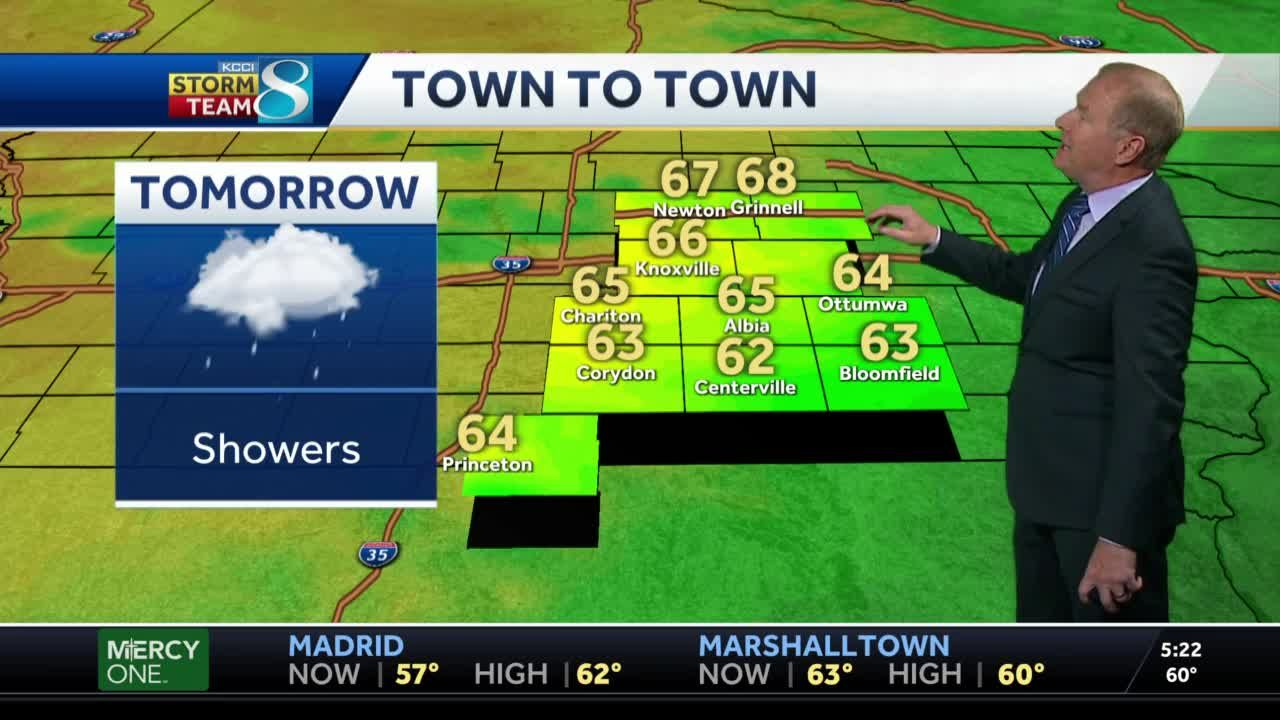 Rain chances continue into the weekend
