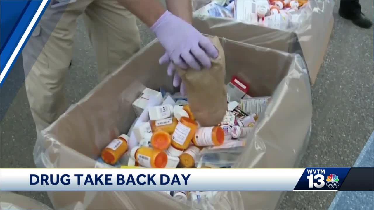 Annual National Prescription Drug Take Back Day scheduled for April 24