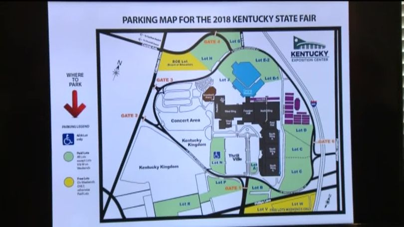 Be patient: Traffic plans released for 2018 Kentucky State Fair on kentucky derby park map, kentucky state fair events, kentucky state fair games, kentucky state fair food,