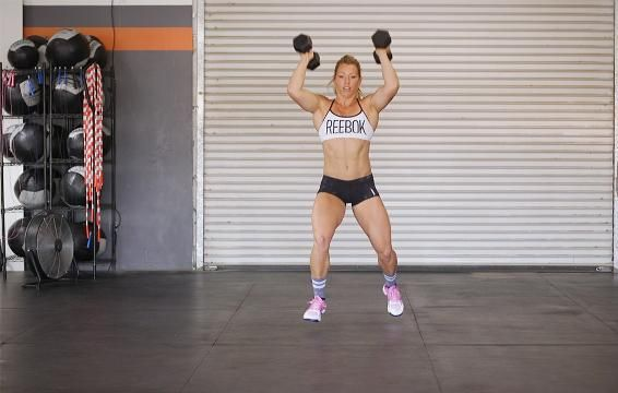 This CrossFit Dumbbell Complex is the Perfect No-Nonsense Workout