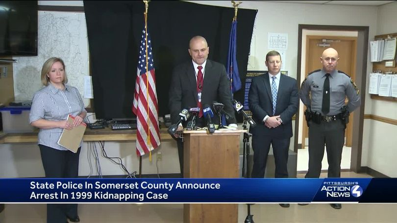 DNA, fingerprints lead to arrest in 1999 child kidnapping in