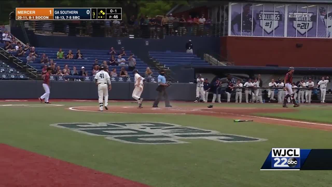 Walk-off win for Georgia Southern baseball