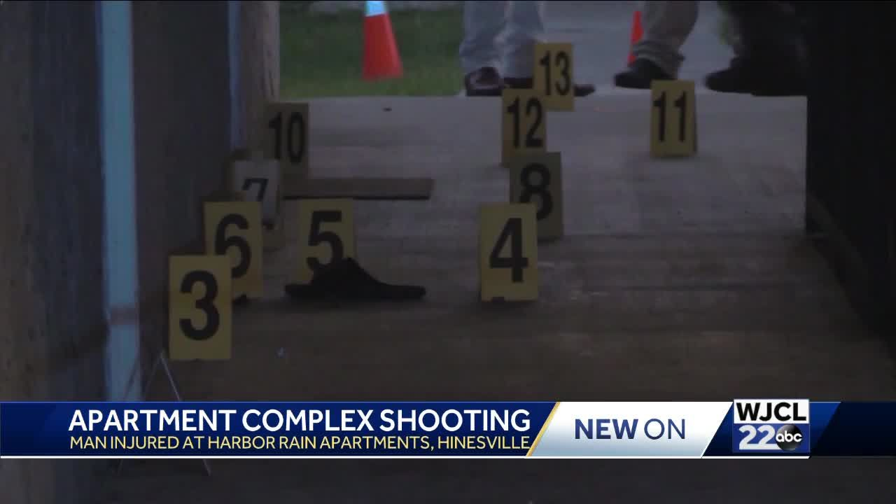 Police: Man shot at Hinesville apartment complex