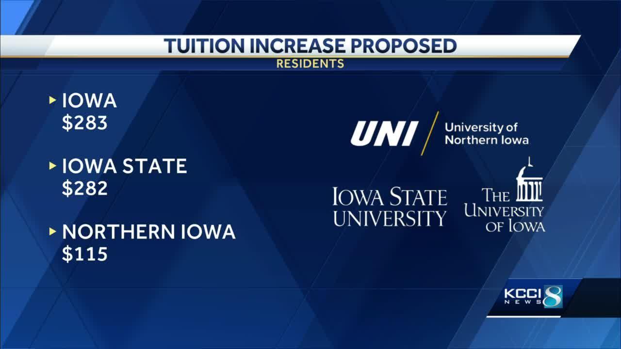Iowa Board of Regents to vote on tuition increase for Iowa, ISU, UNI