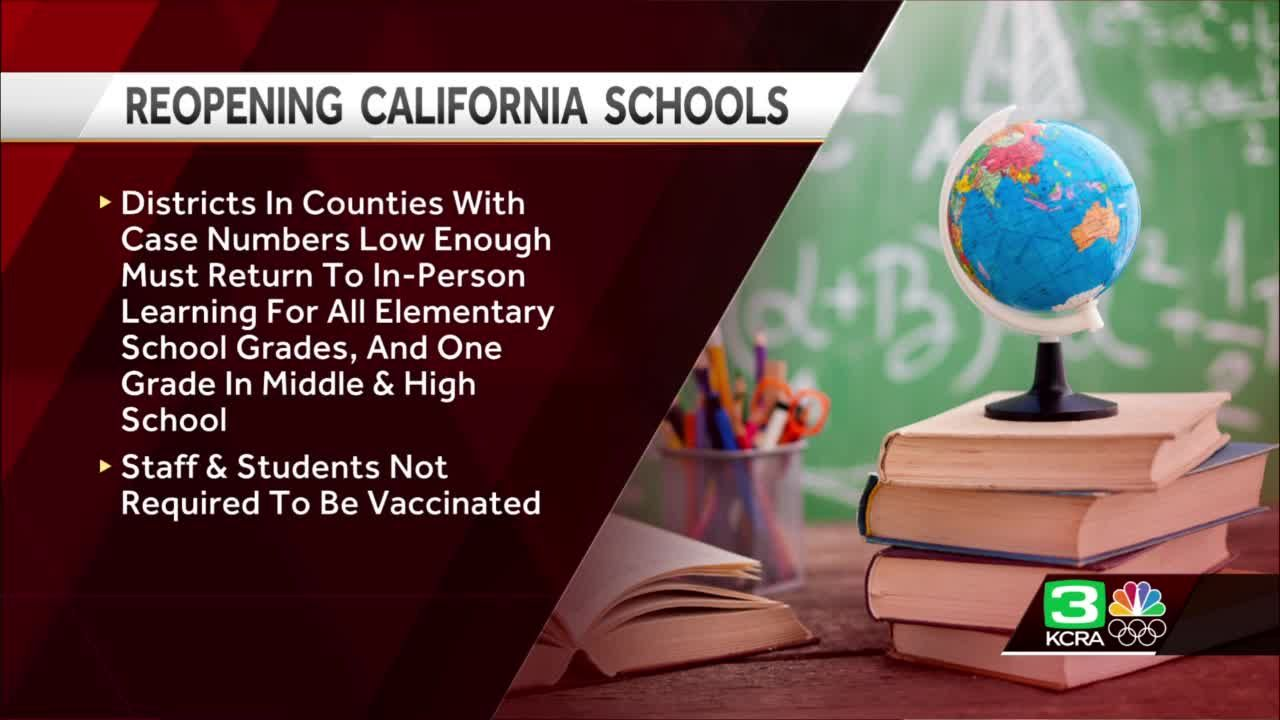 Deal reached to get California children back in classrooms